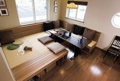 嶋展示場|展示場・ショールーム|ササキハウス Bedroom Minimalist, Minimalist House Design, Minimalist Home Interior, Japanese Interior Design, Japanese Home Decor, Asian Home Decor, Tiny House Loft, Tiny House Living, Home Room Design