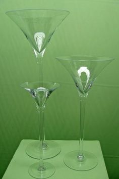Jumbo Martini Glass Vase, 16, 20, 23-inch, Wedding Centerpiece                                                                                                                                                                                 More