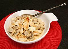 Escalopes de poulet crème champignons | Croquons La Vie avec Nestlé
