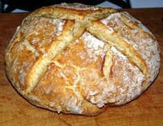 """Irish Soda Bread Recipe  (try making this one first)  Deacon Greg calls it """"the best"""" Irish Soda Bread Recipe  best of all it has a Buttermilk Substitute of milk and vinegar so I don't have to buy buttermilk Z"""