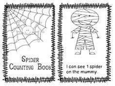 Freebielicious: Spider Counting Book