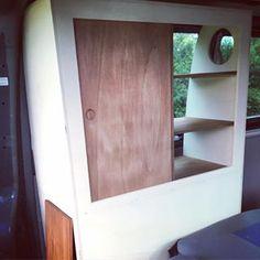 feed_image Mini Camper, Camper Van, Vw Bus T5, T6 California, Bookcase, Shelves, September, Vans, Home Decor