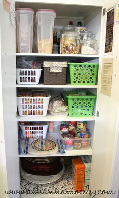 How to organize a small pantry - Ask Anna