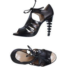 PROENZA SCHOULER Platform sandals ($490) ❤ liked on Polyvore