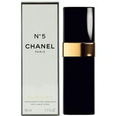 Chanel No.5 perfume bottle