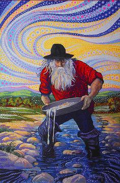 Ira Kennedy, The most famous unknown artist in Texas Dot Art Painting, Mandala Painting, Mandala Art Lesson, Crochet Art, Art Sketchbook, Fabric Art, Art Lessons, Art Decor, Giclee Print
