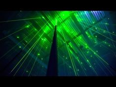 Interactive Musical Laser Forest by Marshmallow Laser Feast