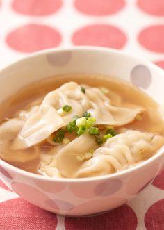 夏の冷え対策にも◎「具だくさんスープ」でカラダの中からきれいにな ... 餃子の皮がもちもちっとした食感で、おなか満足スープ。