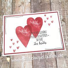 Kleines Set zur Hochzeit, aus Karte und Verpackung.