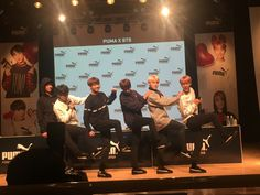 BTS PUMA Fansign (170304 Namjoon wasn't there because he had a personal schedule.. *cough* meeting Wale^^) ❤ #BTS #방탄소년단
