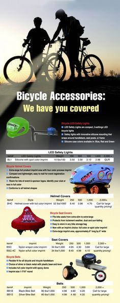 Here at EMT, we have all of your bicycle accessory needs covered!