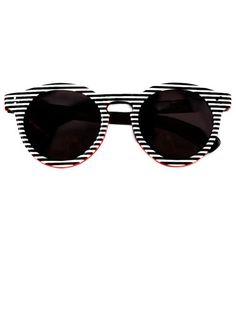 THE BAZAAR: GRAPHIC ARTS--Illesteva sunglasses #getgraphic