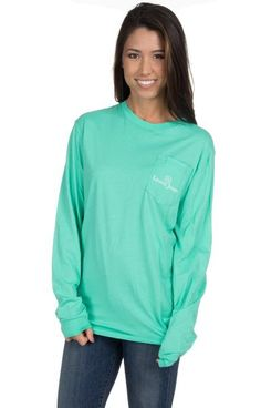 Seafoam - Whatever Floats Your Boat - Long Sleeve Front