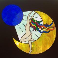 """""""Goddess with Rainbow Hair"""""""