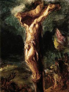 Delacroix, Christ on Cross