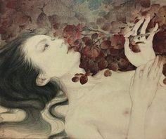 Japanese Art Styles, Japanese Art Modern, Japanese Art Prints, Japanese Painting, Bloodborne Art, Gcse Art Sketchbook, Vaporwave Art, Anime Pixel Art, Paint Photography