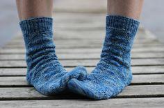 Diamond back socks by Kirsten Hall