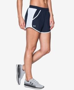 Under Armour Fly By Running Shorts - Blue M