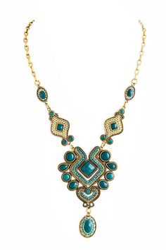 Blue Riviera Necklace - $29