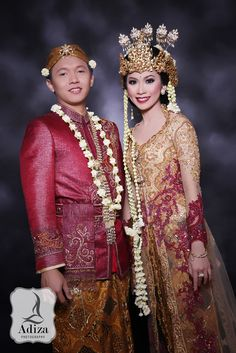 Modern West of Java Wedding Outfit