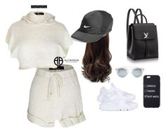 """swag"" by alexannaloro on Polyvore featuring NIKE, Akira, Christian Dior and ALYANNACLOTHING"