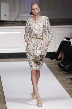 If I had a million (or several million) dollars I would buy Oscar de la Renta's pre-fall 2012 collection!