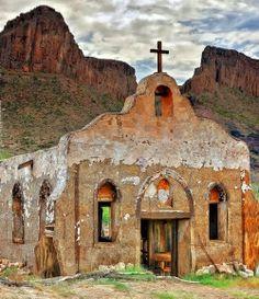 Church in the Big Bend, Texas, USA