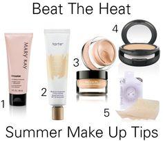 Combat Oily Skin During Summer. Summer make up tips!  inthelandofjen.blogspot.com