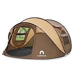 Buy skylink Outdoor Camping Tents Easy Up,Pop Up Tent 4 Person Family Dome Tent Automatic Setup,Instant Family Tents for Camping,Hiking & Traveling Best Tents For Camping, Tent Camping, Camping Hacks, Outdoor Camping, Outdoor Gear, Family Tent, Family Camping, Waterproof Tent, Tent Accessories