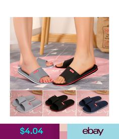 bd321205e2991 Slippers 2018 Men Women Shoes Flat Bath Slippers Summer Sandals Indoor   Outdoor  Slippers  ebay  Fashion