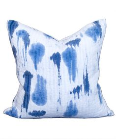 Hand Painted Rev Phyllo Pillow