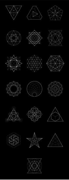 Sacred Geometry BUNDLE: 60 Items by kloroform on @creativemarket