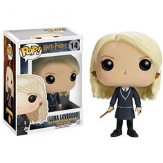 Your favorite characters from Harry Potter are adorable Pop! This Harry Potter Luna Lovegood Pop! Vinyl Figure features the Ravenclaw ally to Harry, holding her wand at the ready. For Ages: WARNING: Choking Hazard- May contain small. Figurine Pop Harry Potter, Harry Potter Pop Vinyl, Harry Potter Action Figures, Objet Harry Potter, Décoration Harry Potter, Pop Vinyl Figures, Luna Lovegood Funko Pop, Collection Harry Potter, Pop Figurine