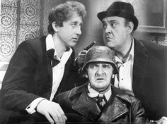 The Producers    Gene Wilder, Kenneth Mars, and Zero Mostel  [The Producers]
