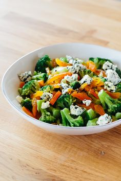 5-Minute Freezer Side Dish: Broccoli with Blue Cheese — 5-Minute Side Dishes