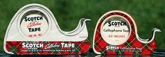 Scotch Tape, 1940's & 50's