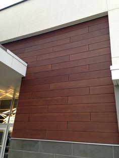 TruGrain™ made with Resysta® is not a wood plastic composite (WPC) and yet surpasses all known alternative wood materials in feel and is engineered to last. The 12 inch comerical siding panel made by TruGrain offers many advantages including spectacular and unique design potential, simple, cost effective installation, and paired with Knights innovative mounting system makes … Continued