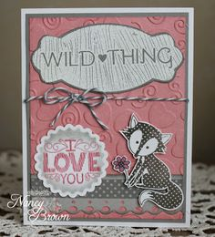 Wild About Love - class card #2