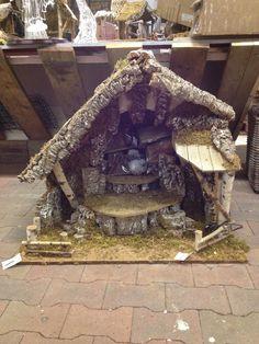 Kerststal timmeren 3
