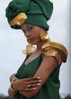 Image from Art of African Fashion. The Hague, Netherlands:  Prince Claus Fund, and Els Van der plas, editors. Prince Claus Fund ; Asmara, Eritrea ; Trenton, NJ : Africa World Press, 1998.