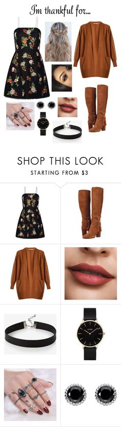 """Untitled #367"" by faye-wilson-i ❤ liked on Polyvore featuring Alice + Olivia, Vince, Express, CLUSE and Thomas Sabo"