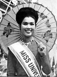 Miss Universe, Thailand 1965. what a beaut!