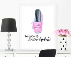 nail salon decor bedroom decor bathroom prints beauty salon