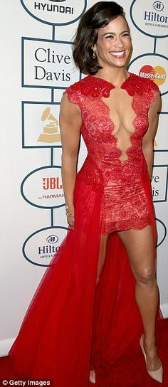 Paula Patton - Annual Grammy Awards Pre-Grammy Gala and Salute to Industry Icons honoring Lucian Grainge in LA 25 January 2014 Gal Gabot, Paula Patton, Event Dresses, Beautiful Celebrities, Lady In Red, Beauty Women, Beautiful Dresses, Celebrity Style, Party Dress