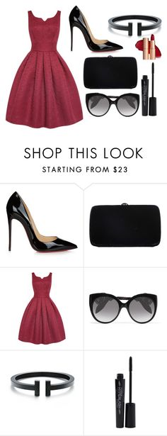 """""""#9"""" by moray-693 on Polyvore featuring мода, Christian Louboutin, Sergio Rossi, Alexander McQueen и Smashbox"""