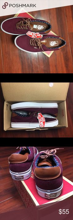Vans New with tag on sale for black Friday Burgundy Vans Shoes Sneakers