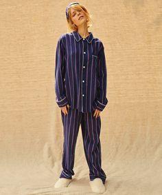 PEACH JOHN(ピーチ・ジョン)のフランネルシャツパジャマセット(ルームウェア)|ストライプ