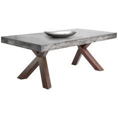 Shop For Sunpan U0027MIXTu0027 Warwick Grey Rectangular Stone Top Dining Table.