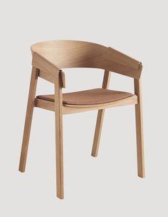 COVER Chair upholstery in Oak / remix 252, designed by Thomas Bentzen #muuto #muutodesign