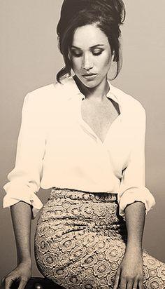 Lovely Meghan Markle sporting her Rachel Zane office look. Estilo Fashion, Fashion Mode, Office Fashion, Work Fashion, Fashion Tips, Estilo Meghan Markle, Meghan Markle Stil, Prince Harry, Suits Tv Shows